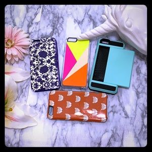 NANETTE LEPORE IPHONE 6CASES BUNDLE OF 4